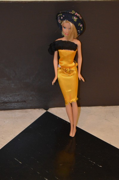 Barbie in a Pussy Riot dress by Emily