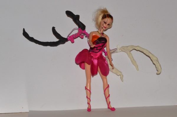 A butterfly Barbie 're-imagined' by Hugo